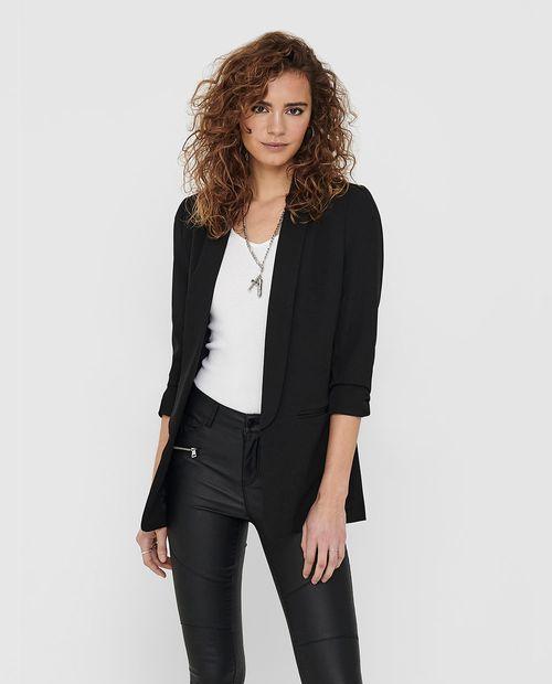 Blazer femenino color negro