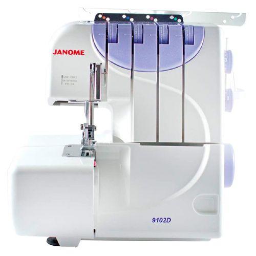 Máquina de Coser Janome Overlock de 4 Hilos