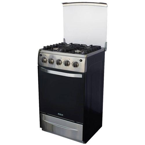 "Cocina RCA a gas de 20"" acero inox"
