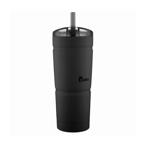 Vaso termico insulado c/pajilla 24oz negro