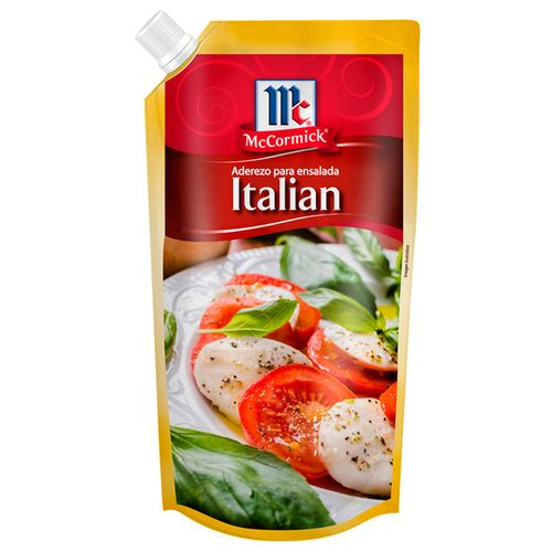 Aderezo italiano  d/p 12x200ml