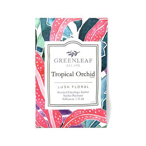 Bolsa pequeña tropical orchid