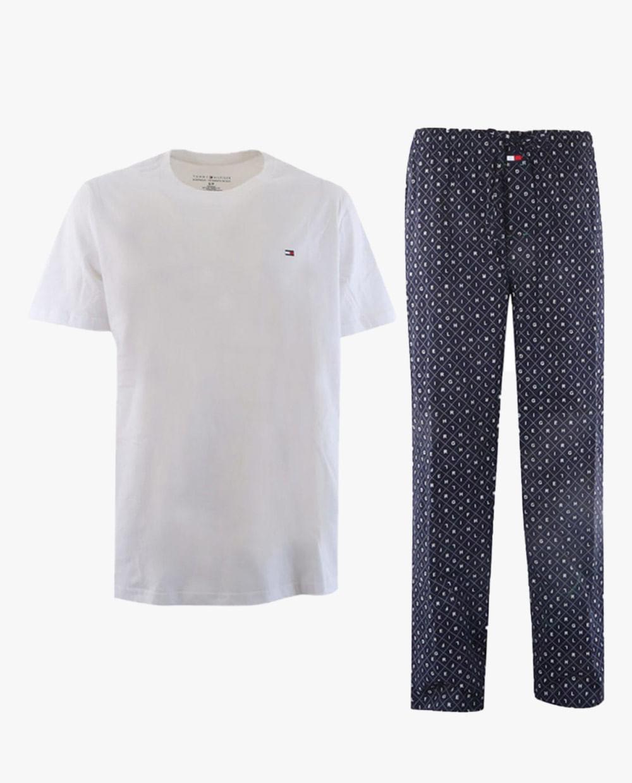 Set pijama para caballero camisa mc y pantalon dark blue ...