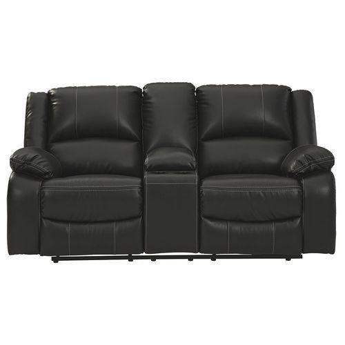 Love seat reclinable con consola Calderwell