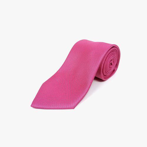 Corbata de poliester bright pink