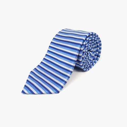 Corbata de poliester blue