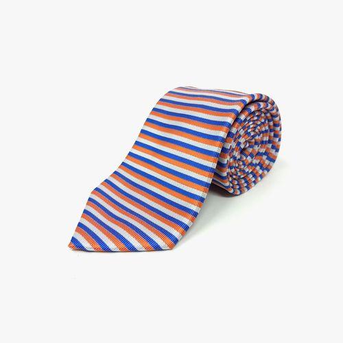 Corbata de poliester orange