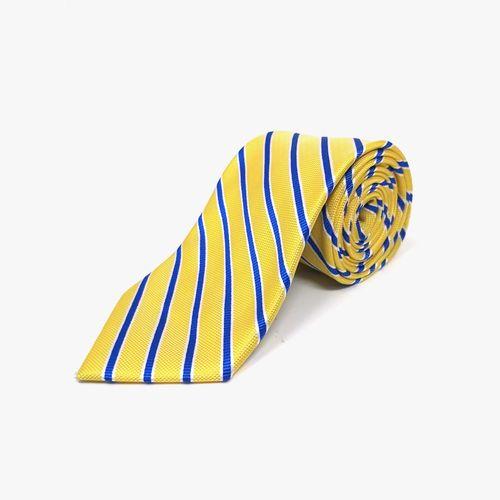 Corbata de poliester yellow