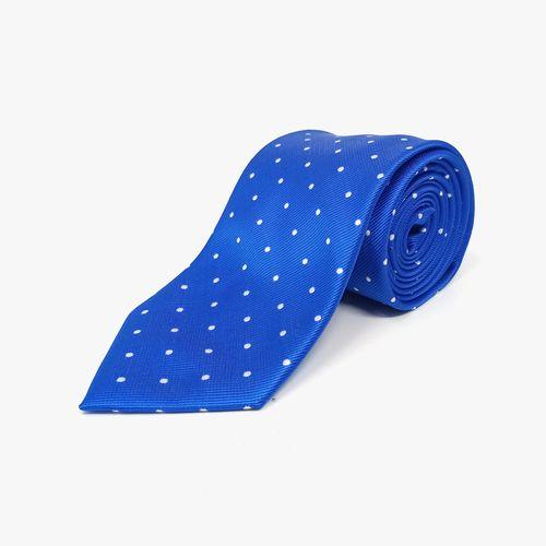 Corbata de poliester royal