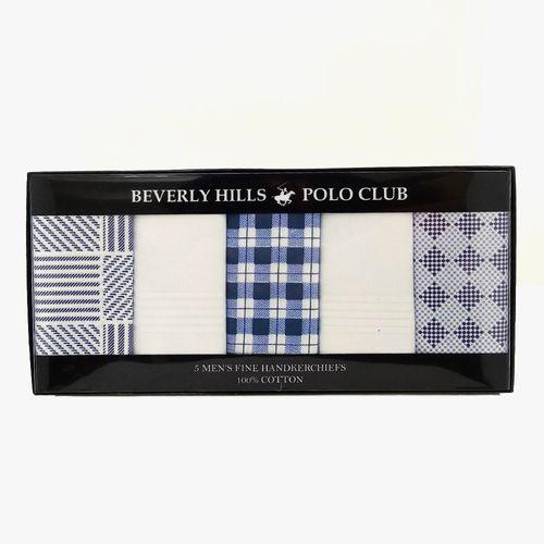 5pk pañuelos azul