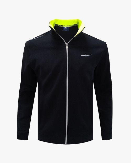 Black m. full zip sweatshirt