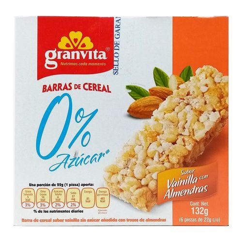 Barra de cereal - vainilla