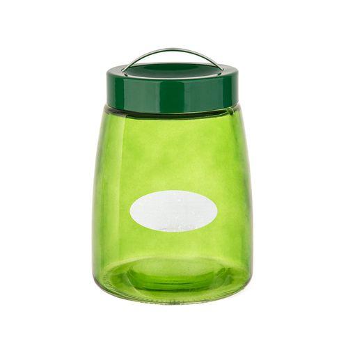 Deposito de vidrio 42.5oz verde