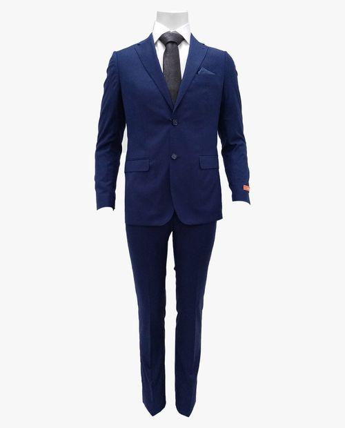 Traje slim fit básico blue