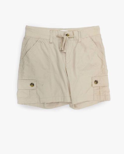 Short básico beige
