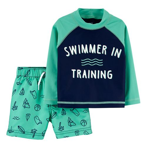 """Traje de baño dos piezas """"swimmer in training"""""""