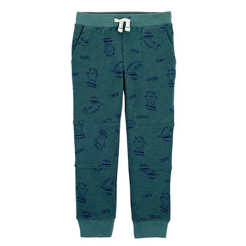 Pantalón verde dino niño
