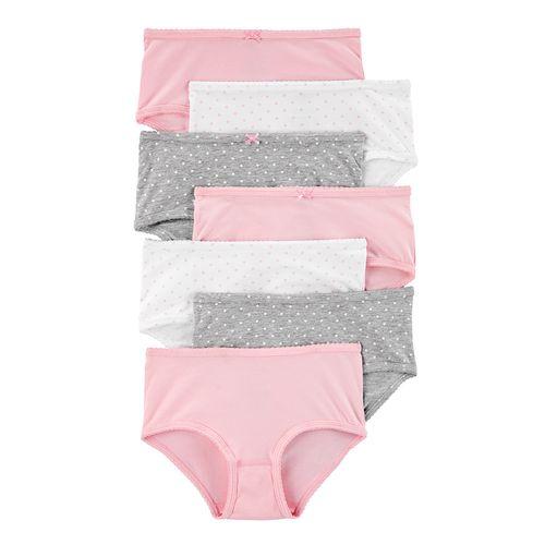 7 pack bloomer niña rosas y básicos