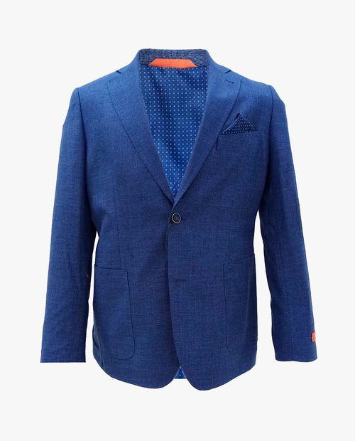 Blazer textura blue