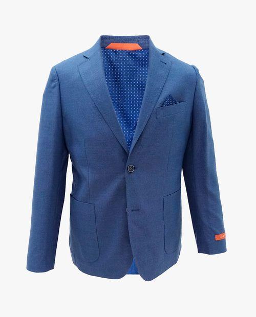 Blazer sharkskin blue