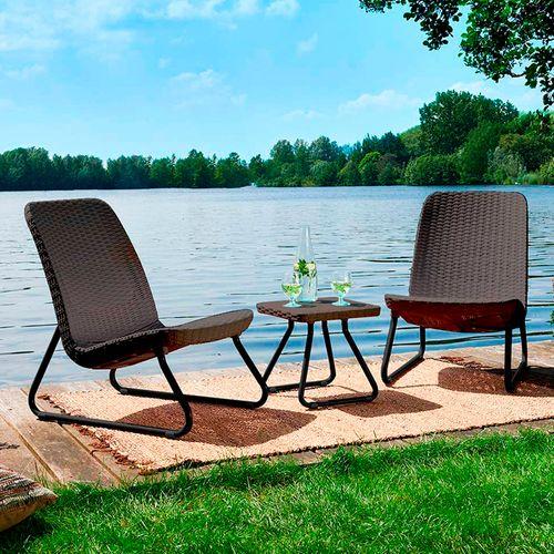 Set de mesa con 2 sillas  para exteriores