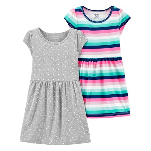 2 pack vestido niña