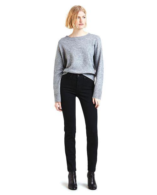 Jeans 312 shaping slim soft black