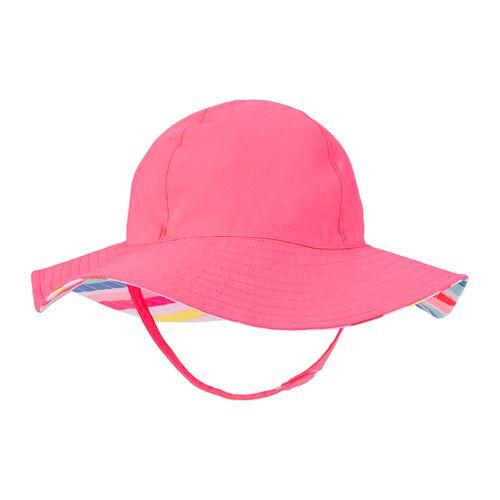 Sombrero niña rosado