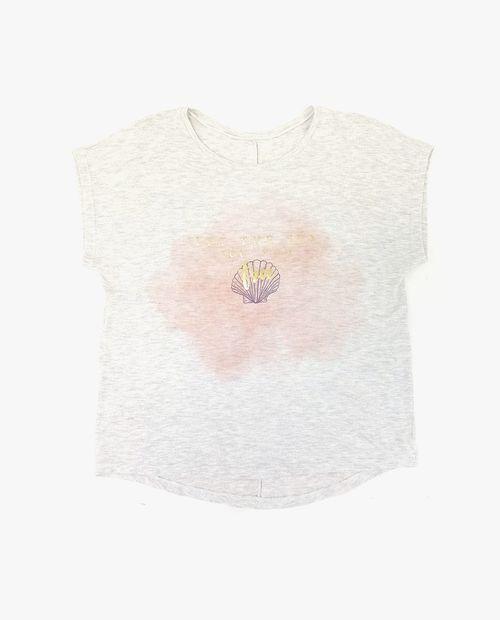 Camiseta arena jaspe