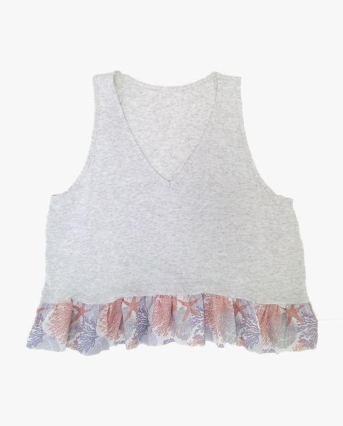 Camiseta color arena jaspe