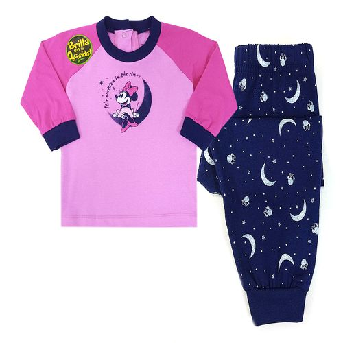 Pijama 2 piezas - minnies moon