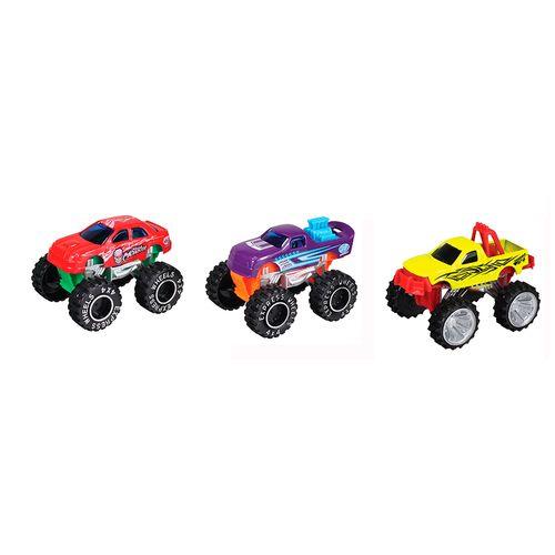 3 pack  monster trucks