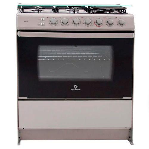 """Cocina a gas Indurama 30"""" gris"""