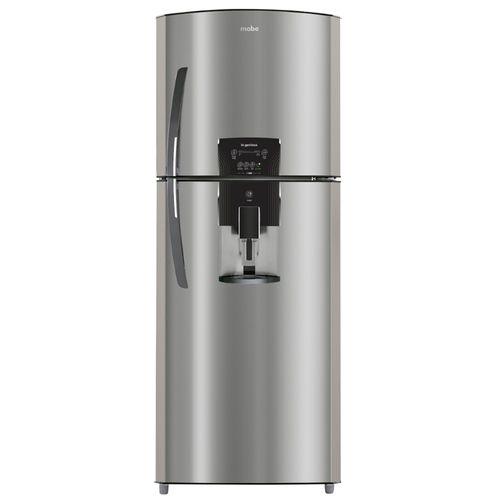 Refrigerador 14 pies mabe inoxid tactil luz led hielo facil