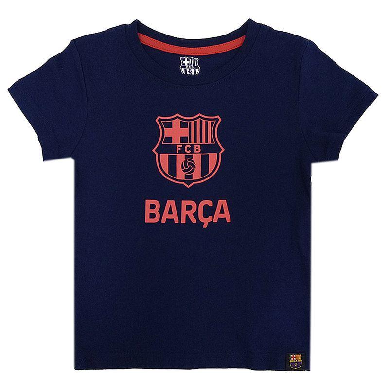 Camiseta-navy-Barcelona-de-niño