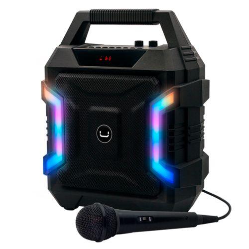 Parlante ritmo bt karaoke negro