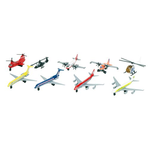 Aviones 9 pack