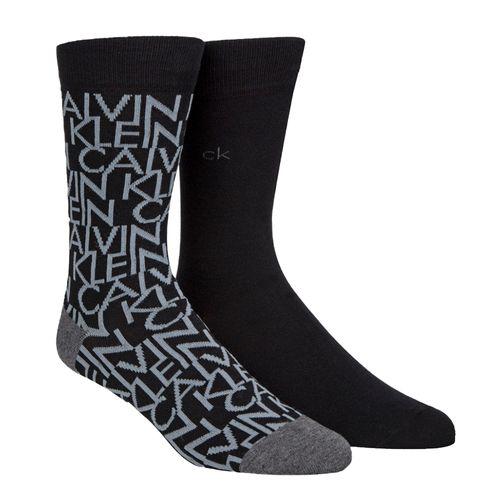 2 pack calcetines para caballero black