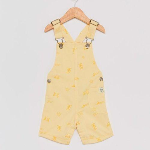 Overall amarillo para niño