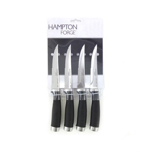 Set de 4 de cuchillos epicure para carne