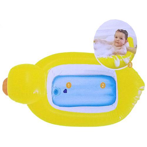 Bañera inflable de patito
