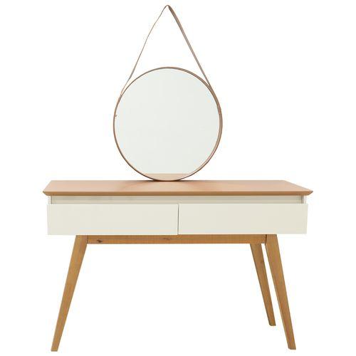 Mesa consola con espejo