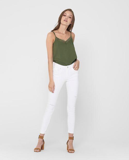 "Jeans  blanco ""30"