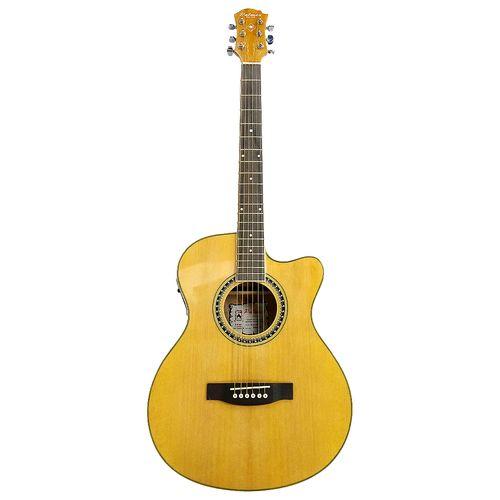 Guitarra electroacustica - natural