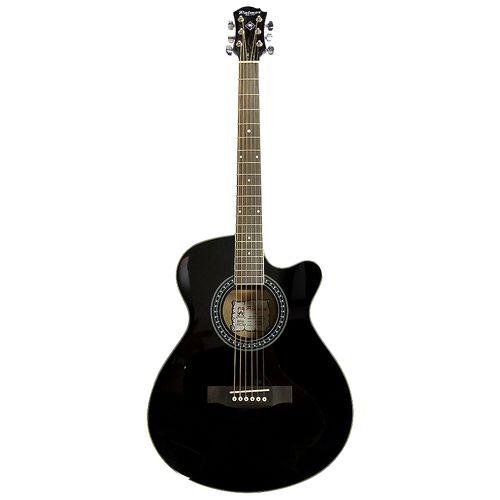 Guitarra acústica - negra