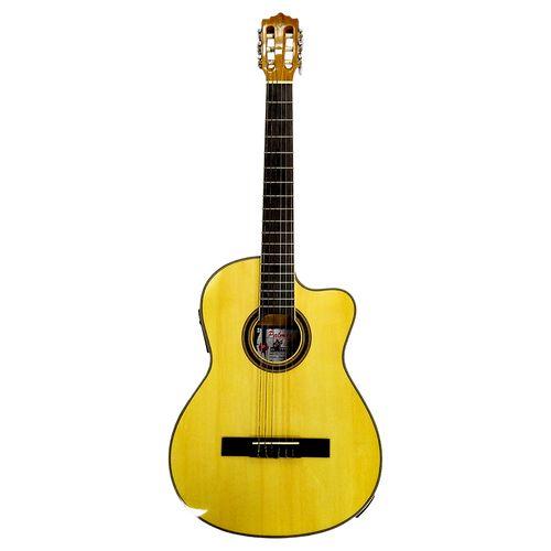 "Guitarra electroacústica 39""  - natural"
