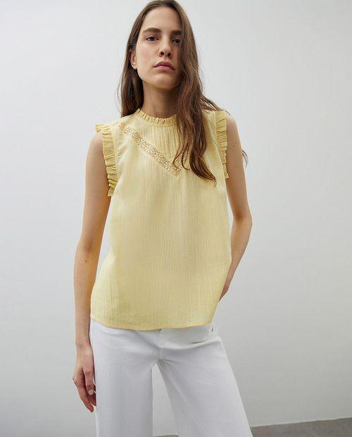 Blusa amarillo