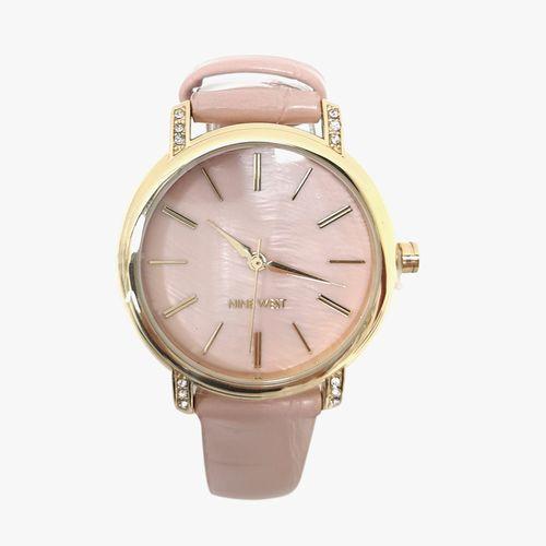 Reloj análogo cuero rosa dama