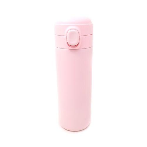 Termo acero inoxidable rosado 420ml