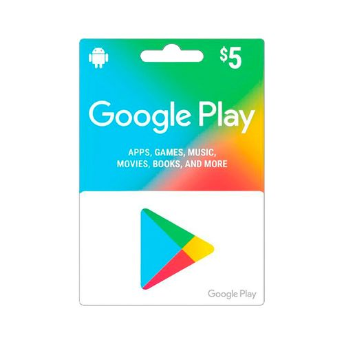 Google play gift card $5